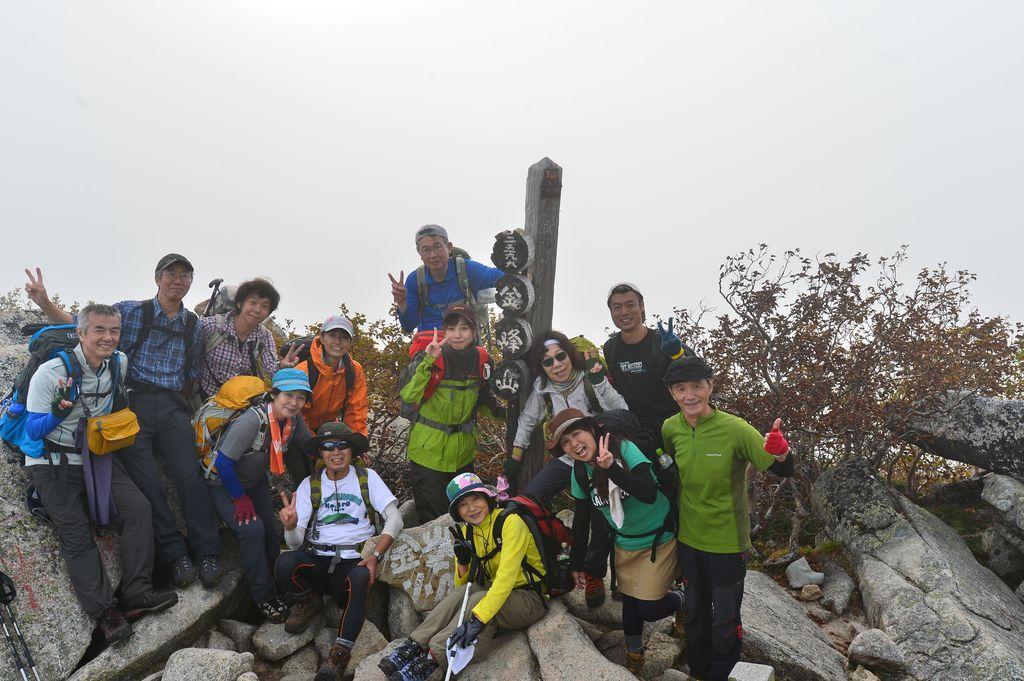 市民登山教室 金峰山